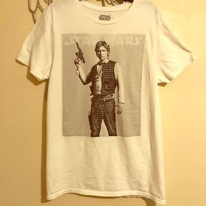 Star Wars Solo Graphic White T-shirt